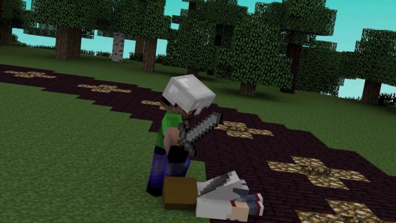 Hunger games minecraft animation youtube for Mine craft hunger games