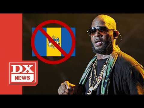 R. Kelly Permanently Banned From Philadelphia Mp3