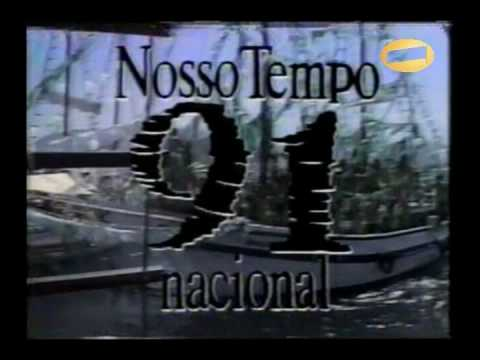 Chamada NOSSO TEMPO 1991 - Rede Manchete