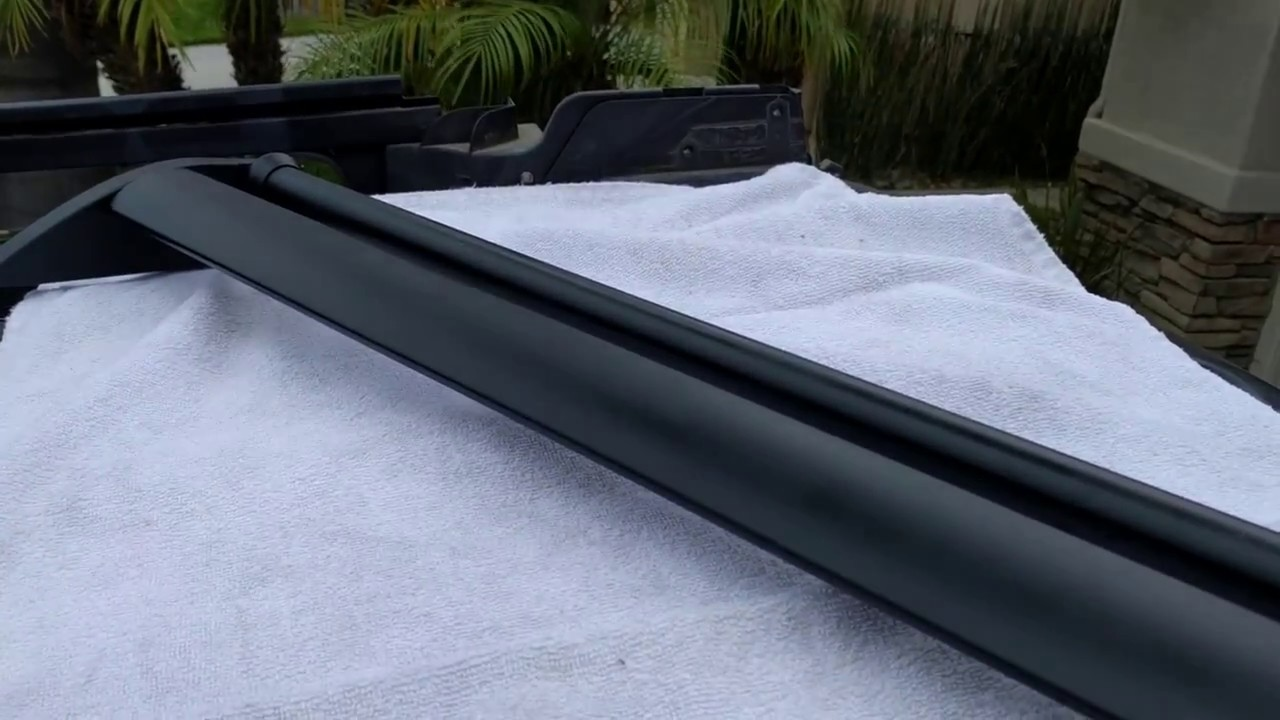 Suburban Roof Rack Install Rear Element And Roller By Froggy