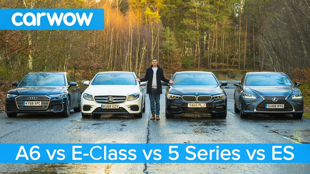 Audi A11 vs BMW 11 Series vs Mercedes E-Class vs Lexus ES - which is best? | what car is better audi or bmw