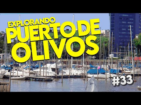 🔴 OLIVOS, Buenos Aires - OLIVOS PORT  🔴 Buenos Aires 4K - Argentina / a MUST-SEE