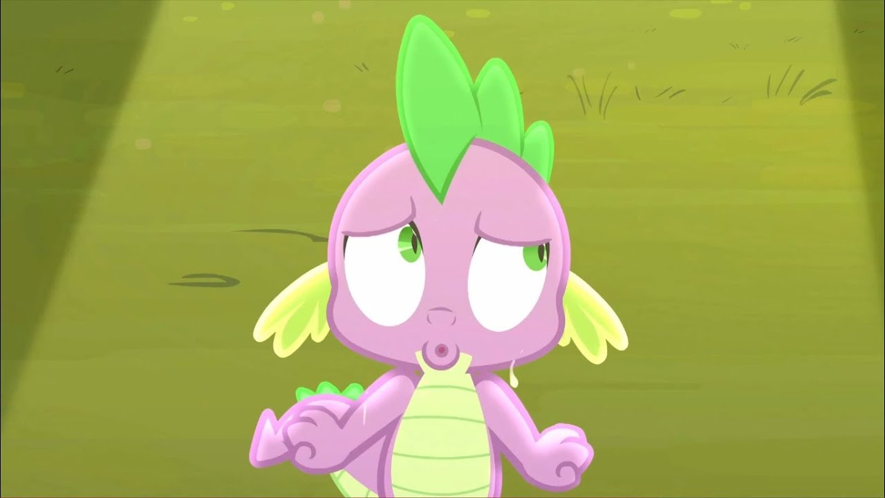 spike sings the cloudsdale national anthem my little pony