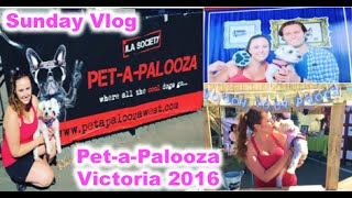 Sunday Vlog: Pet-a-Palooza 2016 in Victoria, BC | Aug 14, 2016