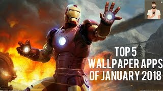 TOP 5 WALLPAPER APPS OF JANUARY 2018 | TECH ANDROID |