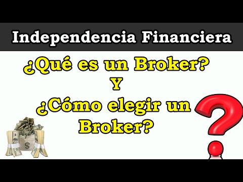 ¿QUÉ ES UN BROKER? Y ¿CÓMO ELEGIR UN BROKER? | #ElecciónBroker | Empezar a invertir en bolsa ✔