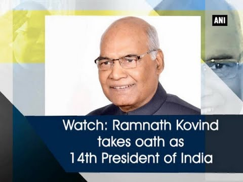 Watch: Ramnath Kovind takes oath as 14th President of India - New Delhi News