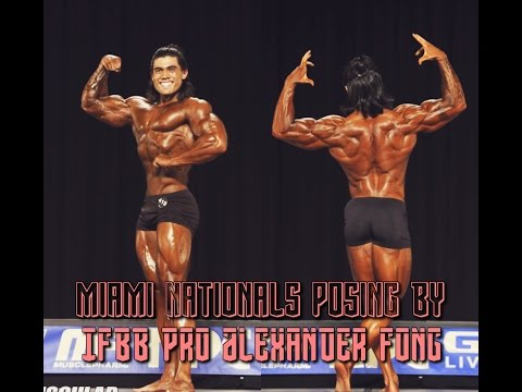 Miami Nationals, Posing By IFBB Pro Alexander Fong
