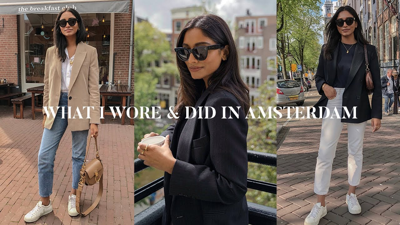 EVERYDAY CITY OUTFITS LOOKBOOK | AMSTERDAM VLOG 9