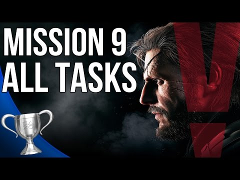 Metal Gear Solid 5 Phantom Pain - Backup Back Down All Tasks