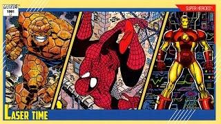 Marvel Trading Cards: Series 2 - Superheroes!