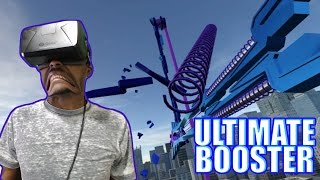 I ALMOST VOMITED | Ultimate Booster Experience REACTION | Oculus Rift DK2