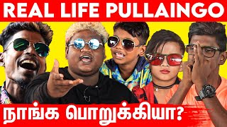 Hair Color அடிச்ச நாங்க கெட்டவனா? | Real Life Pullaingo Emotional Interview | Gaana Singers