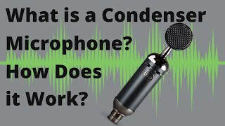 WHAT IS A CONDENSER MICROPHONE AND HOW DOES IT WORK? Blue Spark SL Blackout XLR Condenser Microphone