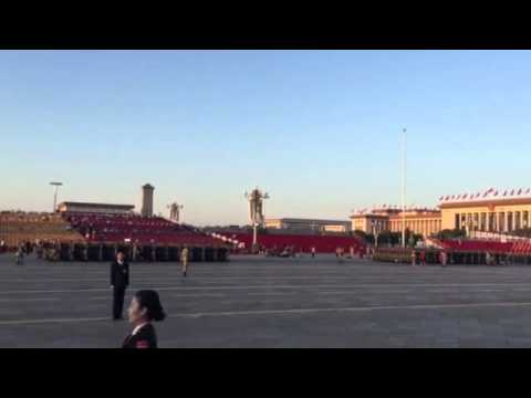 Blue skies in Beijing for China's big military parade