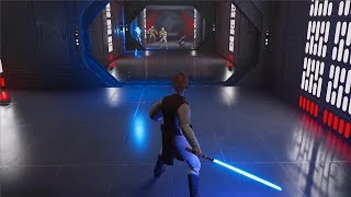 Star Wars Jedi: FALLEN ORDER - Young Cal Gameplay (Order 66 Scene) @ 1080p (60ᶠᵖˢ) ✔