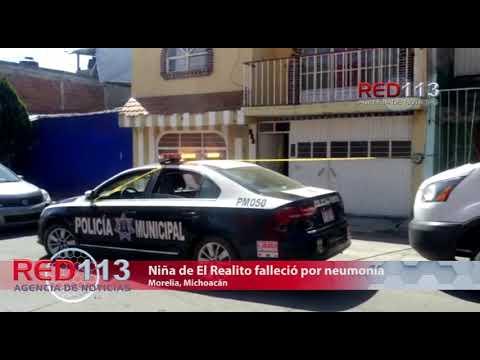 VIDEO  Neumonía, la causa del deceso de una niña en la colonia El Realito