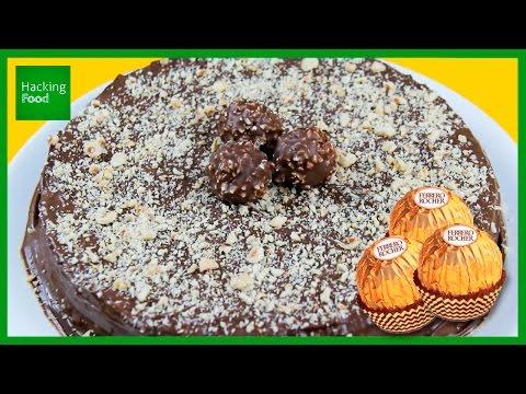 Receta TARTA de FERRERO ROCHER ¡sin horno! ✅  Top Tips & Tricks en 1 minuto