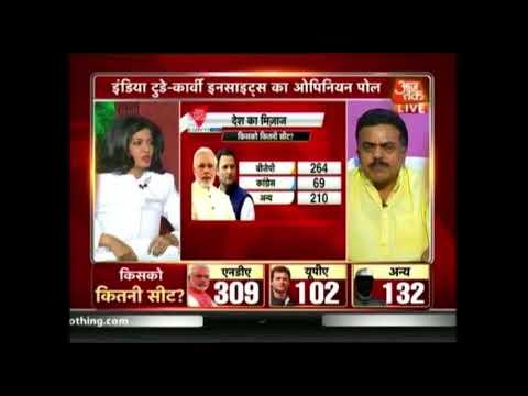 Aaj Tak Opinion Poll | NDA Will Form Government In 2019; Narendra Modi Will Continue As PM