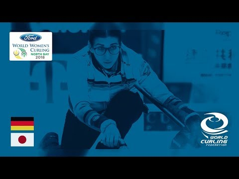Germany v Japan - Round-robin - Ford World Women's Curling Championships 2018