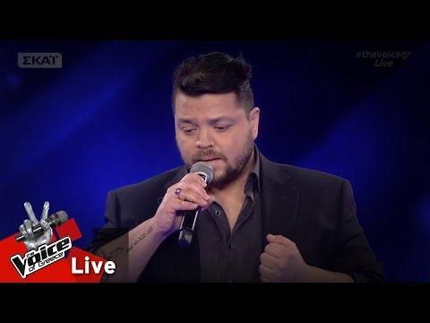 Αναστάσιος Παπαναστασίου - All by myself | 1o Live | The Voice of Greece