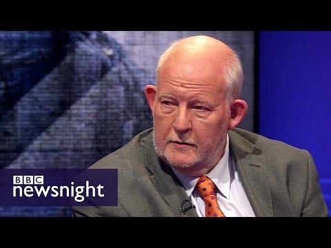 Charles Clarke: Corbyn wrong on war on terror - BBC Newsnight