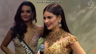 Beauty Contest (HD) Miss Earth 2017 - Top 8 Question and Answer (Part 6)
