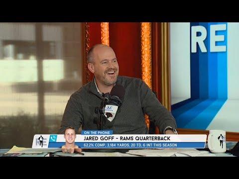 L.A. Rams QB Jared Goff on Sean McVay, Carson Wentz & More - 12/14/17