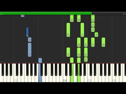 Don McLean - American Pie - Piano Cover Tutorials - Backing Track