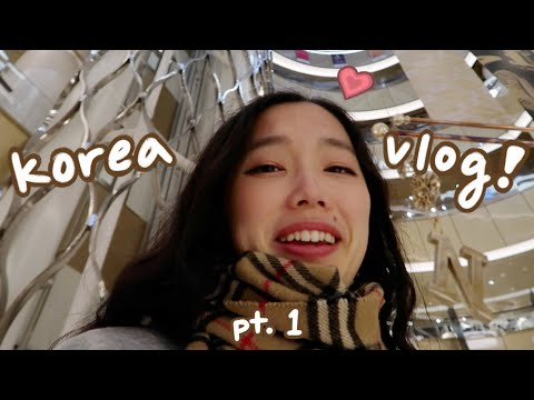 korea vlog pt.1 : SEOUL | shopping, food, cafes, BTS concert(?)