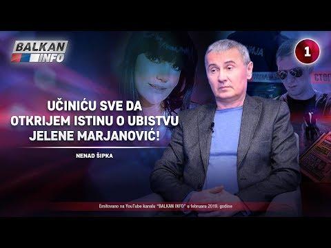 INTERVJU: Nenad Šipka - Učiniću sve da otkrijem istinu o ubistvu Jelene Marjanović! (7.2.2019)