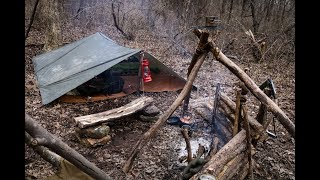 Shawnee National Forest Winter Wild Camp w/ Shawnee Woodsman