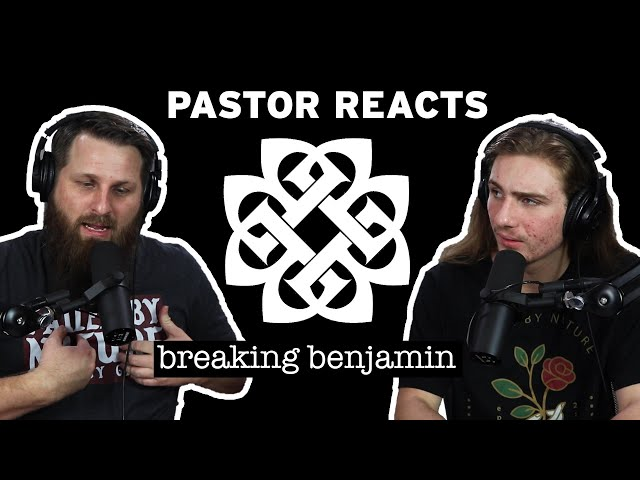 Breaking Benjamin - Ashes of Eden // Pastor Rob Reacts // Lyrical Analysis (Edited)