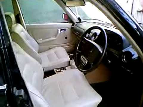 Mercedes Benz W123 240D interior.wmv - YouTube