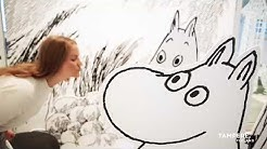 World's Only Moomin Museum in Tampere, Finland