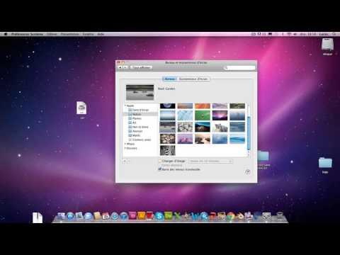 astuce mac comment changer son fond d 39 cran sur mac youtube. Black Bedroom Furniture Sets. Home Design Ideas