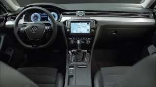 2015 Volkswagen Passat interior footage
