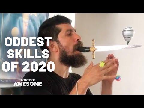 Weirdest Skills & Strangest Talents of 2020 | Best of the Year