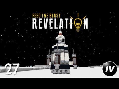 FTB Revelation - Ep 27 - Luna: Advanced Rocketry - PakVim net HD
