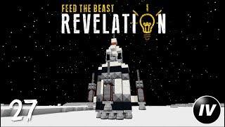 FTB Revelation - Ep 27 - Luna: Advanced Rocketry