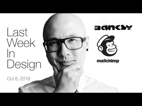 Last Week in Design: Banksy Self Destruct & Mailchimp Rebrand 2018