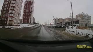 видео Как заехать и спуститься с горы. Поцарапал дверь на прицепе крышей авто.