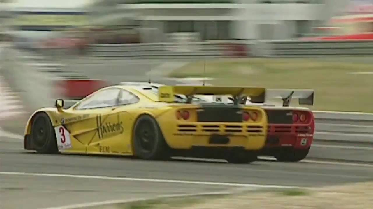 on-board the mclaren f1 gtr - nürburgring - 1996 bpr global gt
