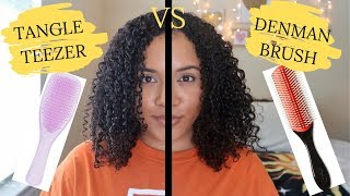 Tangle Teezer vs The Denman Brush. Which Works Best???