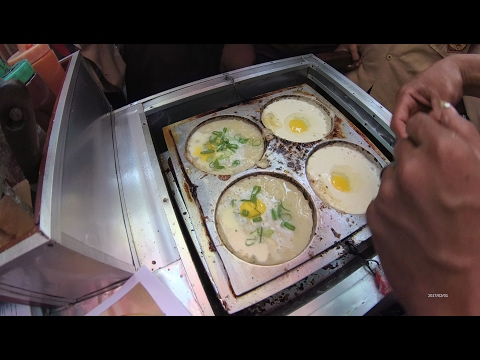 Jakarta Street Food 1200 Part.1 Quail's Egg Murtabak  Martabak Telor Puyuh 5085