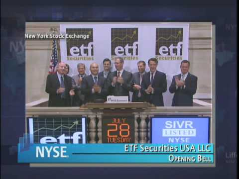 28 July 2009 NYSE Opening Bell ETF Securities