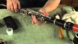 clarivid 84 how to assemble the clarinet pt. 2
