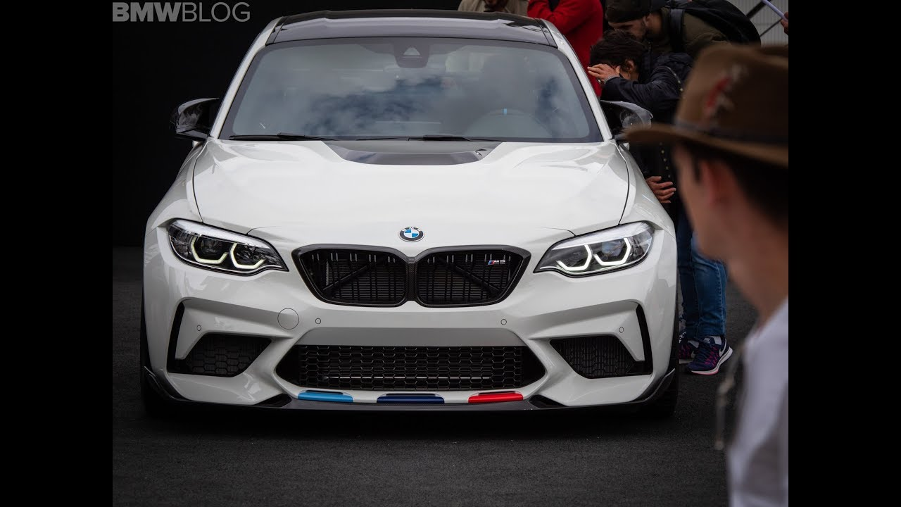 new bmw m2 competition with m performance parts. Black Bedroom Furniture Sets. Home Design Ideas