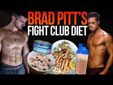 Diet tyler durden Brad Pitt's