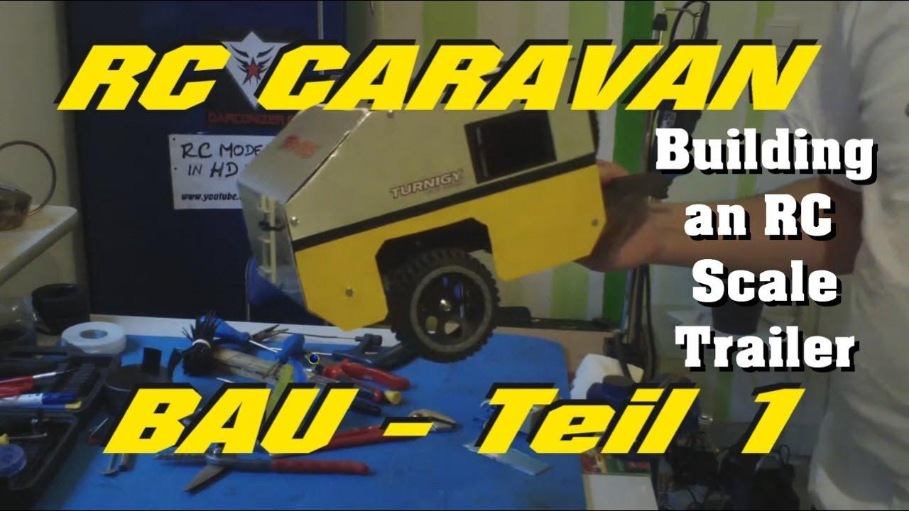 RC Scale Caravan bauen / TEIL PART 1/4 : Material und Kosten ...